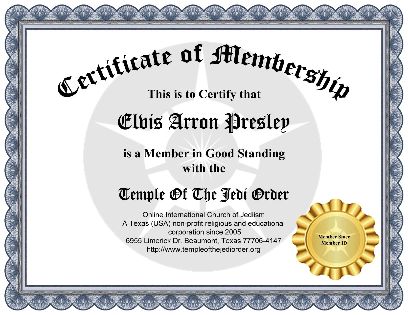 jedi knight certificate template - jedi knight certificate images editable certificate template