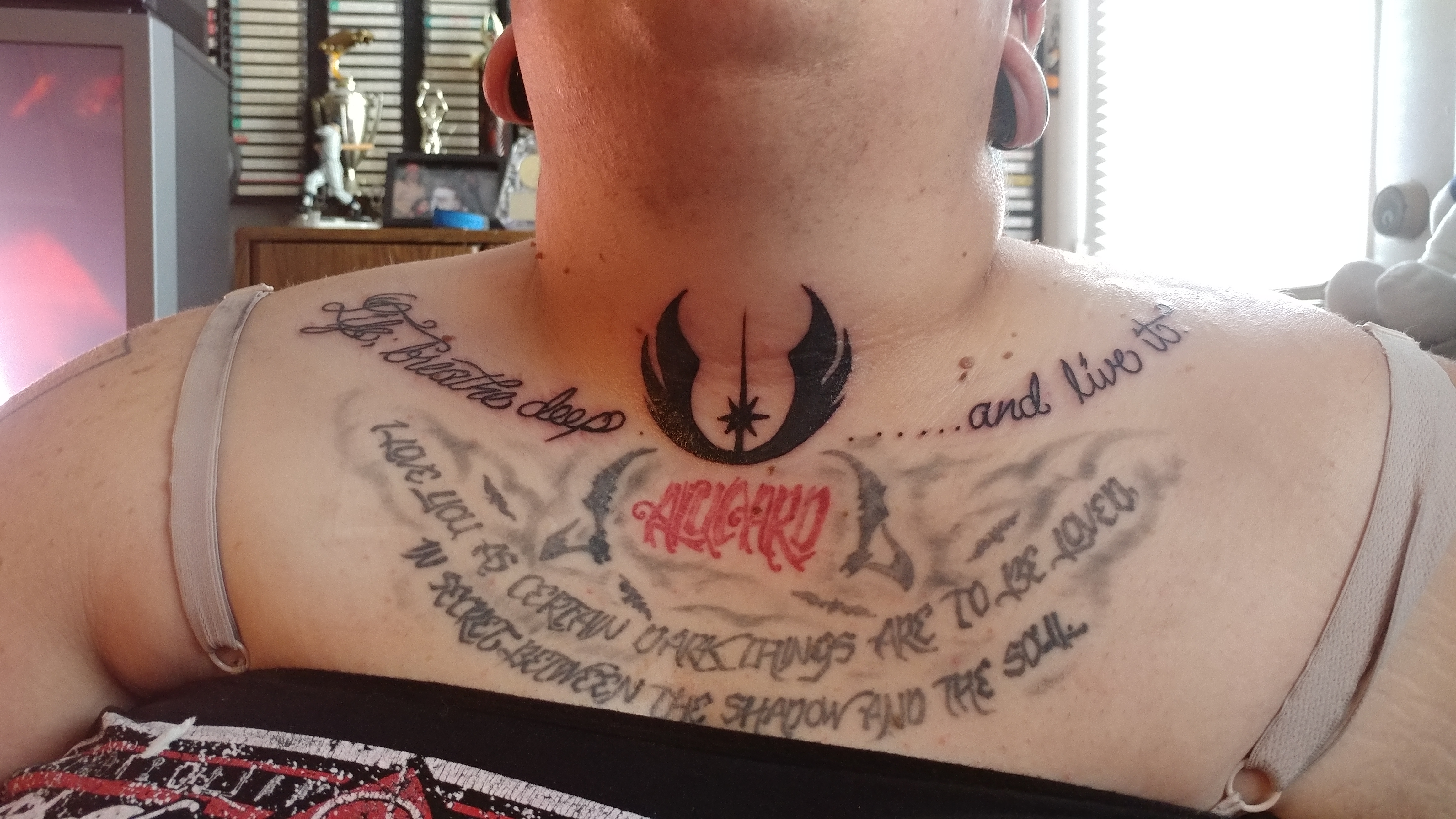 Does Anyone Else Have Tattoos Inspired By Some Jedi Wisdom Forum